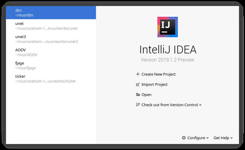 Using IntelliJ IDEA with UnetStack | Unet Blog
